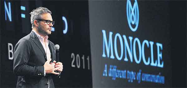 Tyler Brule - Founder and Editor-in-Chief of Monocle