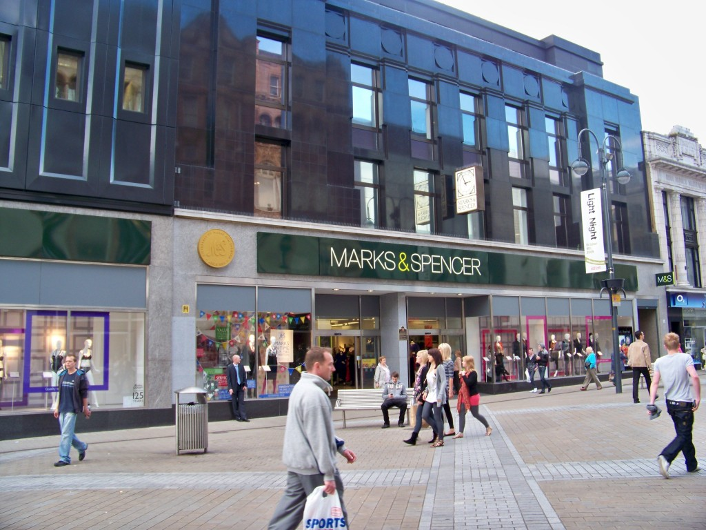Marks & Spencer on Briggate, Leeds, UK -- via Wikipedia