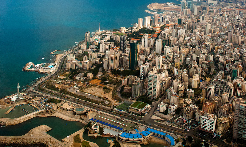 Beirut from the air by Magh -- via flickr