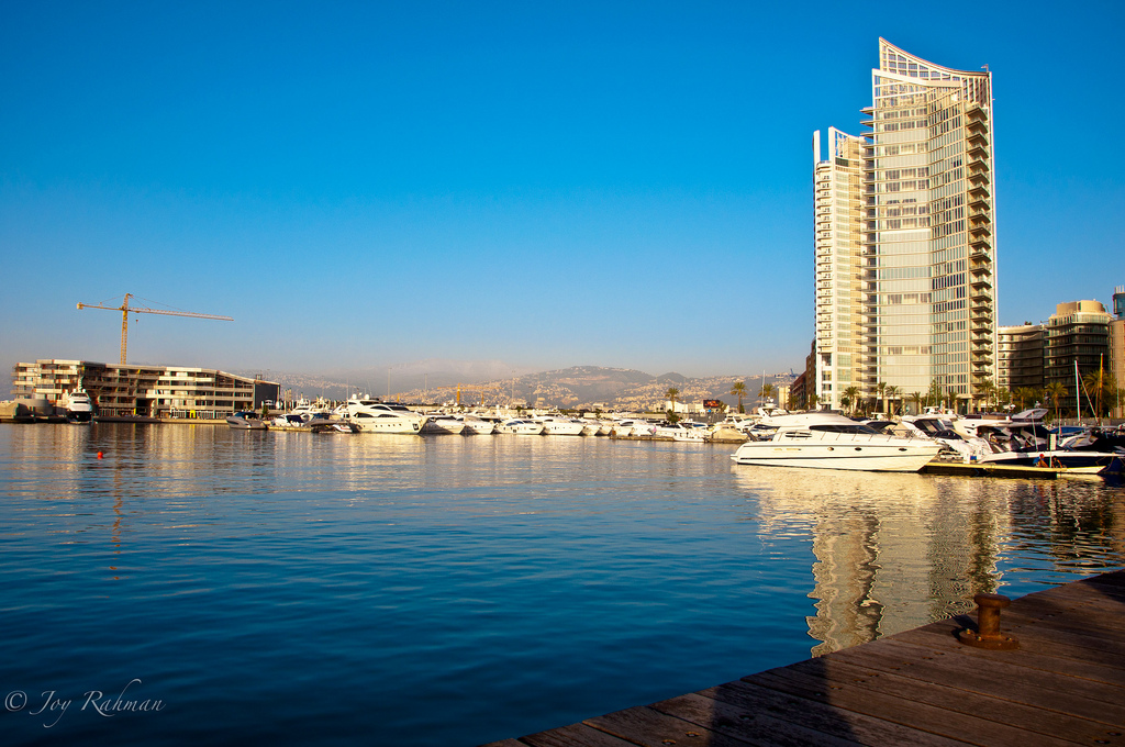 View of Beirut Downtown by  Joy Rahman -- via flickr
