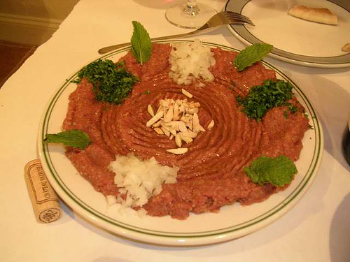 Ontario County Bans Raw Kibbeh at Lebanese Restaurants