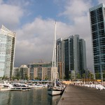 Beirut Seafront - Powerboats and Towers