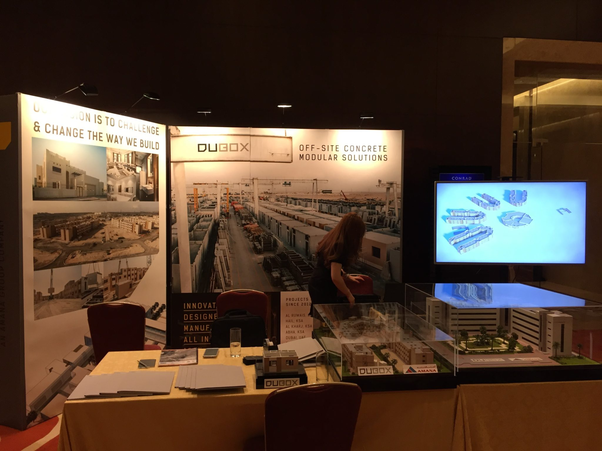 DuBox Participation at Middle East Prefabrication and Modular Construction Summit