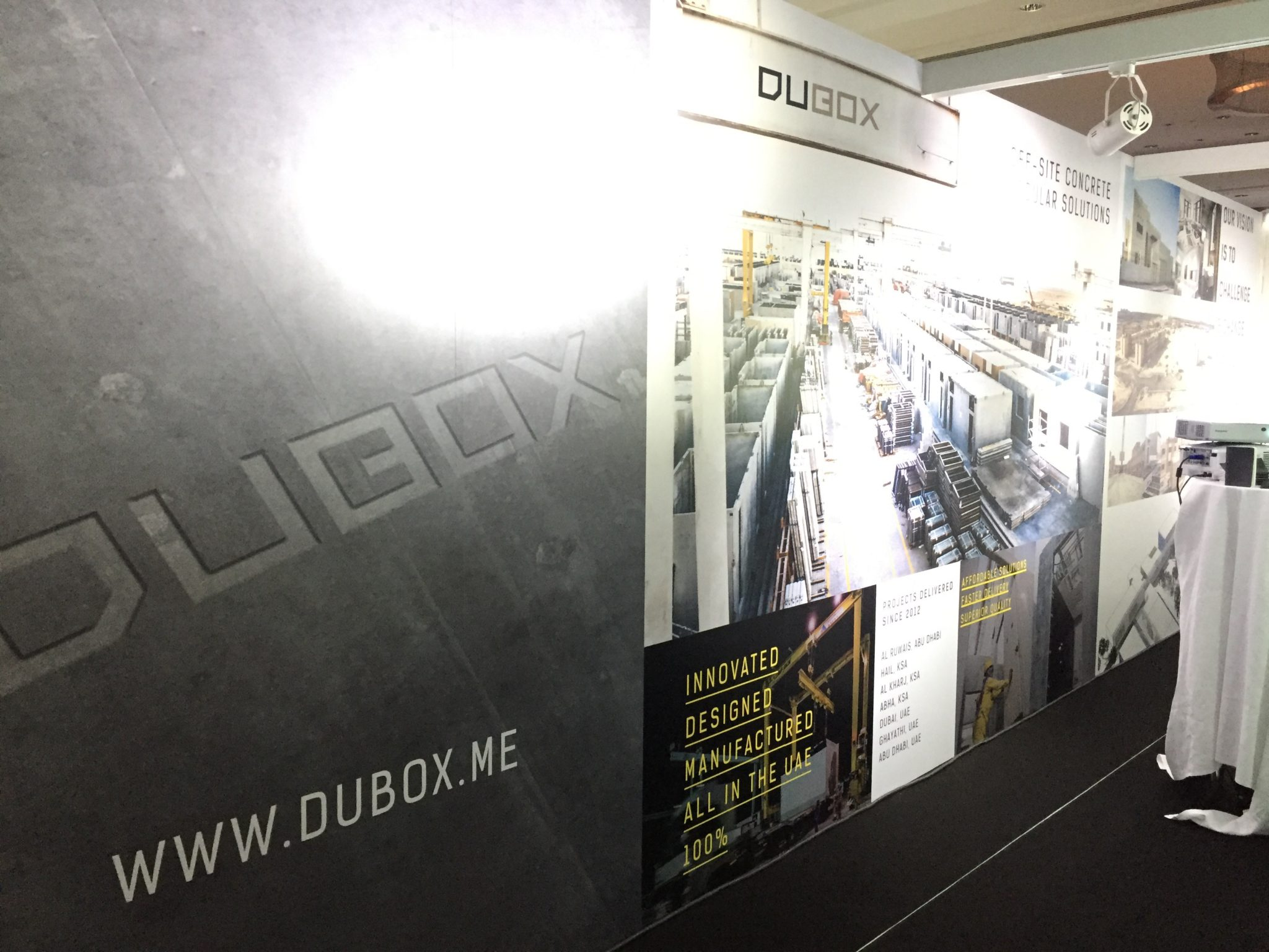 DuBox Stand at Innovation Live!