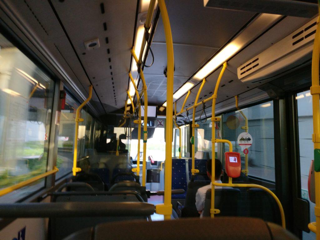 Morning Ride on Dubai Bus